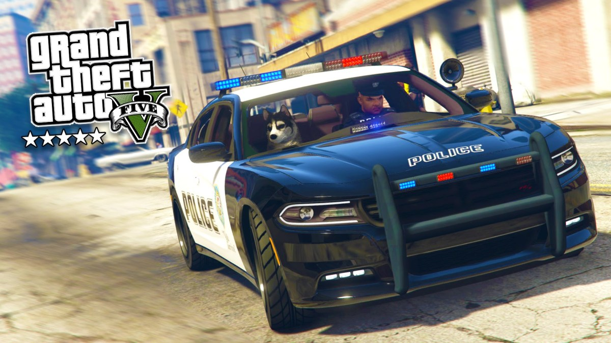 GTA 5 PC Mods – PLAY AS A COP MOD #8! GTA 5 Police K-9 DOG LSPDFR ...