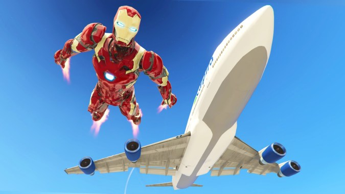 GTA 5 Mods - ULTIMATE IRON MAN MOD!! GTA 5 Iron Man Mark 46 Mod Gameplay!  (GTA 5 Mods Gameplay)