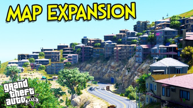 GTA 5 Mods : Map Expansion European Edition