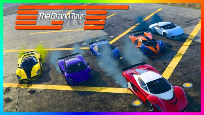 GTA ONLINE THE GRAND TOUR FREEMODE SPECIAL – FASTEST TOP GEAR HYPER