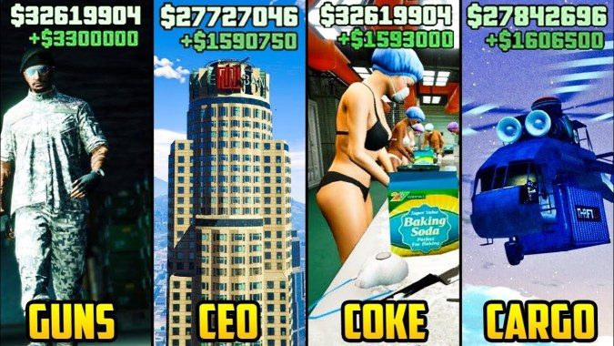 Gta 5 Online Top 5 Best Businesses To Buy Make Money I E Vs Ceo