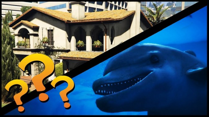 How Many Dolphins Does It Take To Fill Michael's House? | GTA 5 Shenanigans