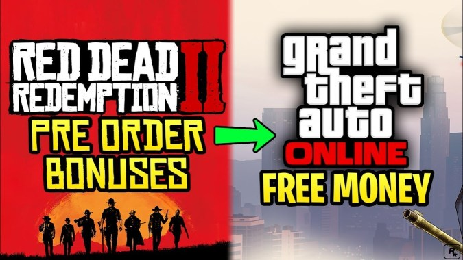 How To Get $2,000,000 FREE in GTA Online by Pre Ordering Red Dead  Redemption 2!
