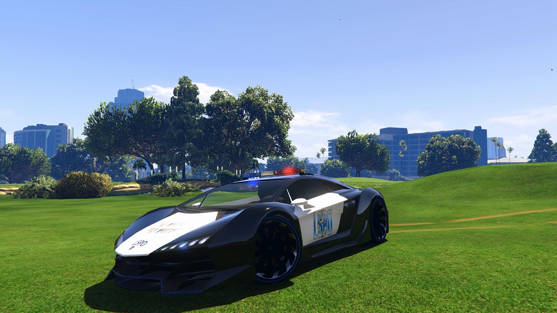 Download The Car Wallpaper Lamborghini Police Zentorno Lspd Vehicules Pour Gta V