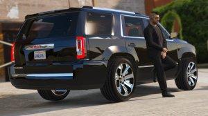 GMC Yukon Denali 2015 [Addon  Replace]  Vehicules pour