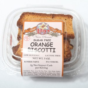 Lilly's Biscotti Orange