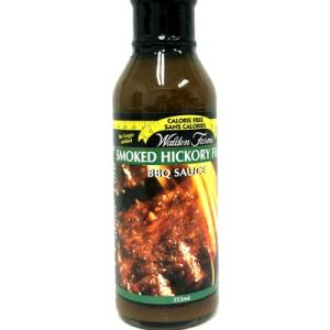 WaldenFarms - Hickory Smoked BBQ Sauce 355ml. No Calories, fat, Carbs, gluten or sugars. Kosher