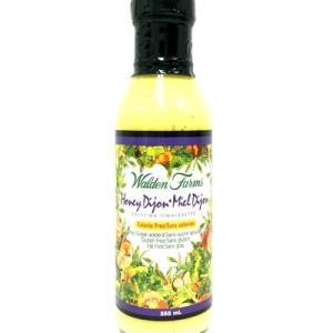 Walden Farms Salad Dressings - Honey Dijon 355ml. No Calories, fat, Carbs, gluten or sugars, Kosher