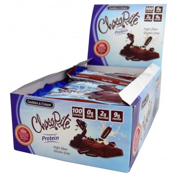ChocoRite Triple Layer Cookies & Cream 34g