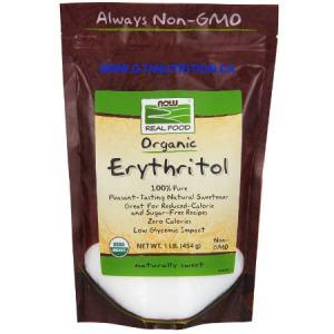 Erythritol Organic Zero Calories Sweetener 454g. Organic, Non GMO, Sugar Free, Dairy Free, Egg Free, Low Sodium, Nut Free, Vegan, Vegetarian, Kosher