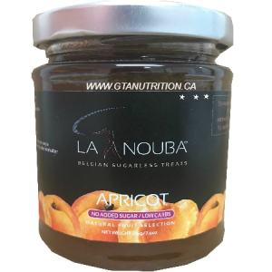 La Nouba Apricot Spread 225g. No added preservatives, Sugar, Color or additives.