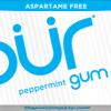 PUR Gum Aspartame Free Peppermint Sugar Free All-natural Flavors Allergen Free Vegan Non-GMO xylitol, gum base, gum arabic, natural flavors, glycerol, carnauba wax, tocopherols