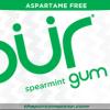 PUR Gum Aspartame Free Spearmint Sugar Free All-natural Flavors Allergen Free Vegan Non-GMO
