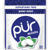 PUR Mint Aspartame Free Polar Mint Sugar Free All-natural Flavors Allergen Free Vegan Non-GMO