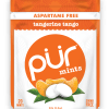 PUR Mint Aspartame Free Tangerine Tango Sugar Free All-natural Flavors Allergen Free Vegan Non-GMO