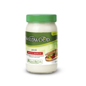 Wildwood Aioli Zesty Garlic 1lb. Earthy Garlic and Zesty Lemon Juice Aioli