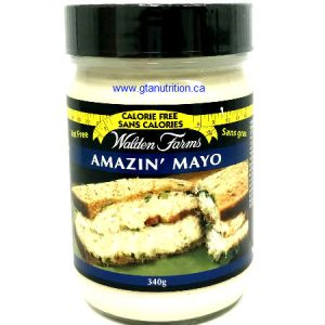 Walden Farms Amazin' Mayo Spread 340g | Parve, Gluten free, lactose free, sugar free, zero calories and zero carb
