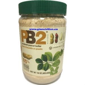 Bell Plantation PB2 Powdered Peanut Butter 1lb | Low Carb, Low Calories, Low Fat, Gluten Free, All Natural, No Additives and Kosher