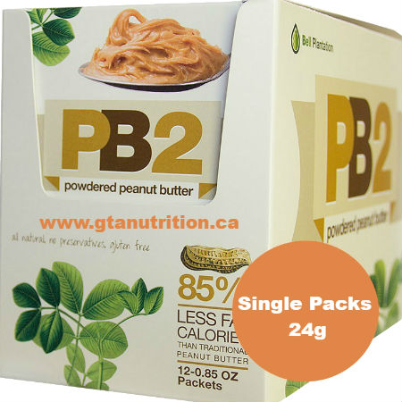Bell Plantation PB2 Powdered Peanut Butter 24g | Low Carb, Low Calories, Low Fat, Gluten Free, All Natural, No Additives and Kosher