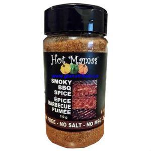Hot Mamas Smoky BBQ Spice 110g. No Salt-No Carbs-No Calories-No Sugar-No MSG- Kosher