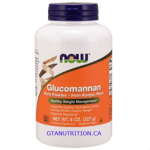 Now Glucomannan Pure Powder 227g. A Dietary Supplement, Keto Friendly, Non GMO, Korn Free, Nut Free, without Gluten, Vegan/Vegetarian, Egg Free, Dairy Free, Soy Free, Sugar Free, Halal, Kosher