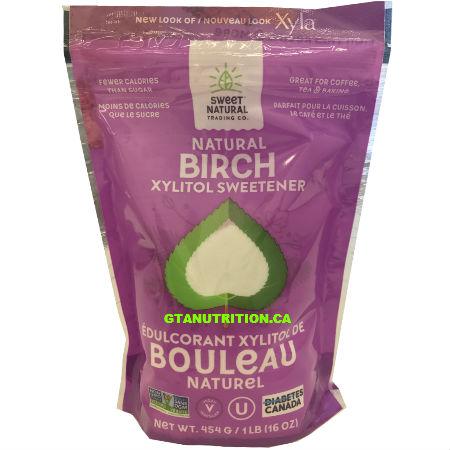 Sweet Natural Birch Xylitol Sweetener 454g. Non GMO Tastes Just Like Sugar, Diabetes Friendly. Vegan, Kosher Say goodbye to refined sugar.
