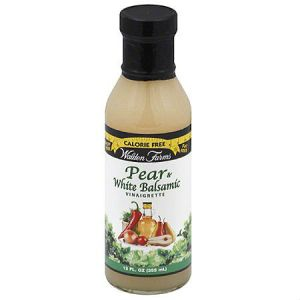 WaldenFarms Pear and White Balsamic 355ml. No Calories, fat, Carbs, gluten or sugars, Kosher. All Walden Farms Products are Carbohydrate, Sugar, Fat, Gluten and Calories free without giving up great taste.