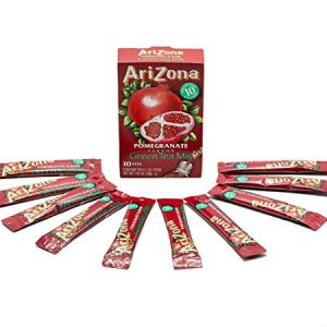 Arizona Pomegranate Tea With Natural Flavors 10 stix . Herbal Tea, Sugar Free, Low Calories Inspired by the original AriZona sun brewed style