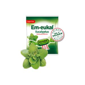 Em-eukal Cough Candy Eucalyptus l Sugar Free Aspartame free. Made in Germany. Deliciously effective.