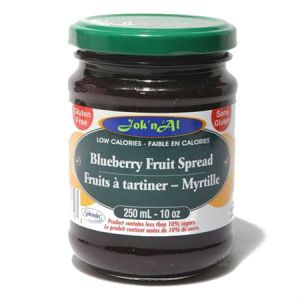 Jok-N-Al Fruit Spread Blueberry l Gluten Free