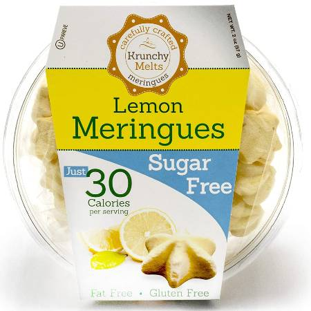 Krunchy Melts Meringues Lemon 57g