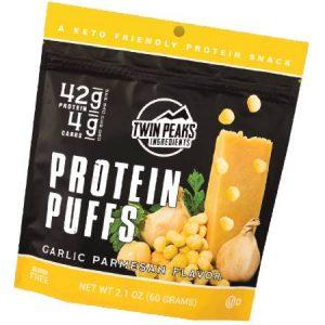 Twin Peaks Protein Puffs Garlic Parmesan Flavor 60g