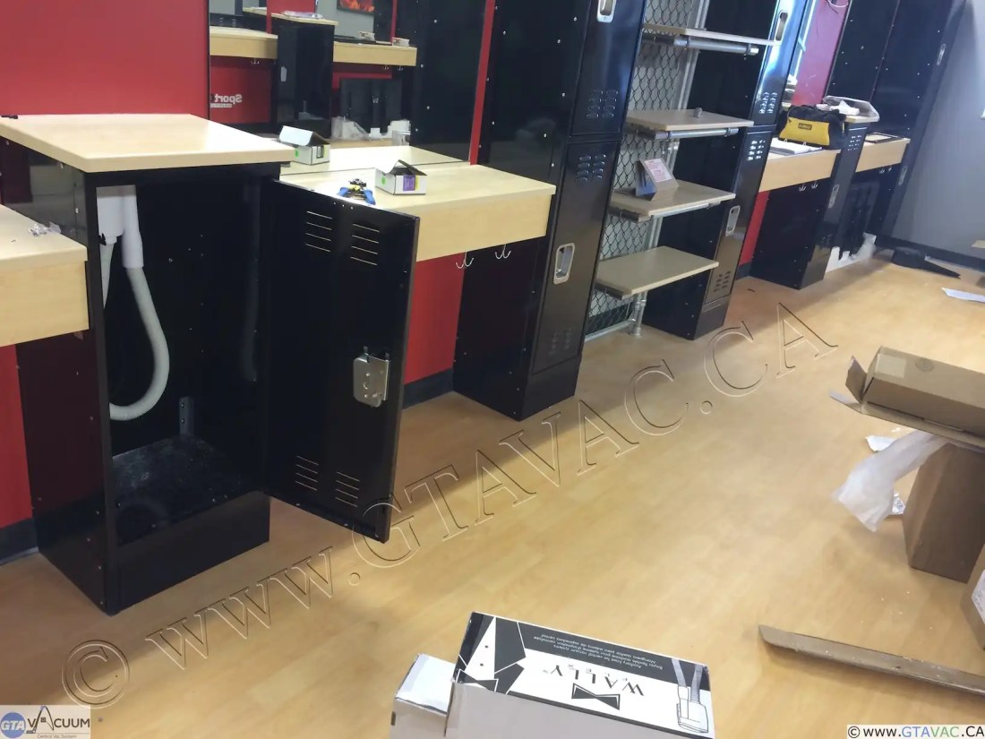 Sport Clips Central Vacuum WalyFLex Installation After 3 1