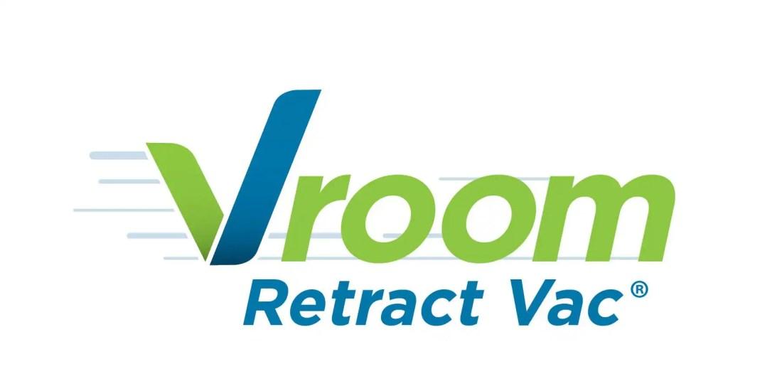 Vroom Retract Vac Logo