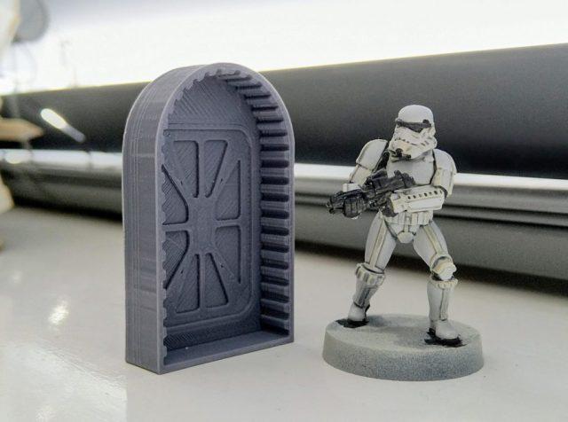 3D Printing far, far away.