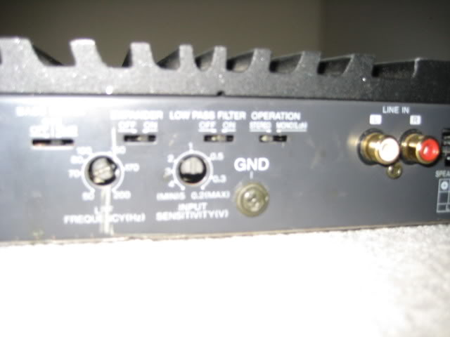 120w Power Amp Bridge Mode