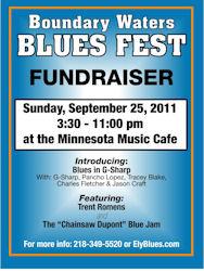 Boundary Waters Blues Festival Fall Fund Raiser 2011