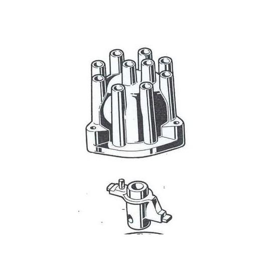 ferrari 308 distributor CAP and Brush Kit