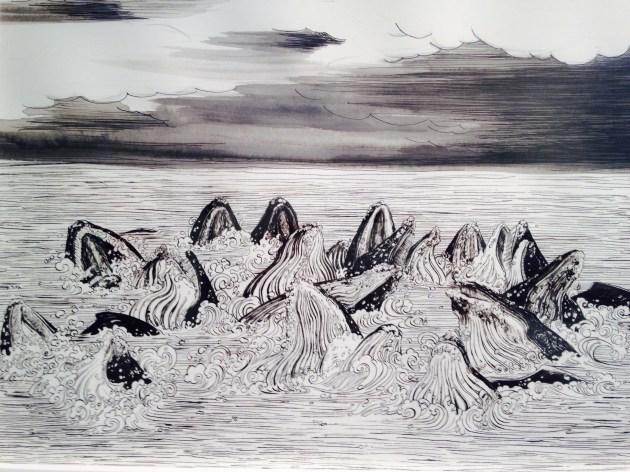 Bonnie Dewitt - Humpback Whales