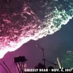 Grizzly Bear, Nov 4, 2017 @ Brooklyn Steel, NYC