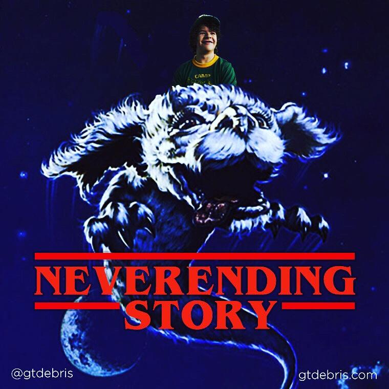Stranger Things Neverending Story