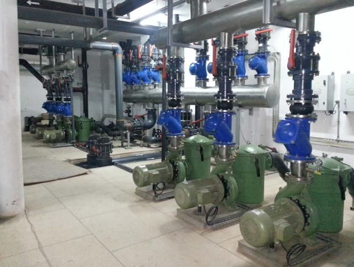 Pompes filtration Hôtel Royal Palm Marrakech