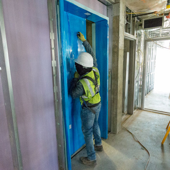 GTech 1 HM MRL Elevator Installation Project New York