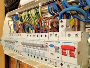 Bild på elcentral