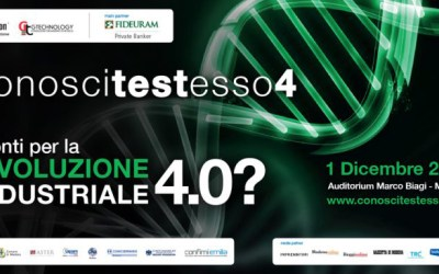 INDUSTRIA 4.0: GTechnology a Conoscitestesso® – 4a edizione