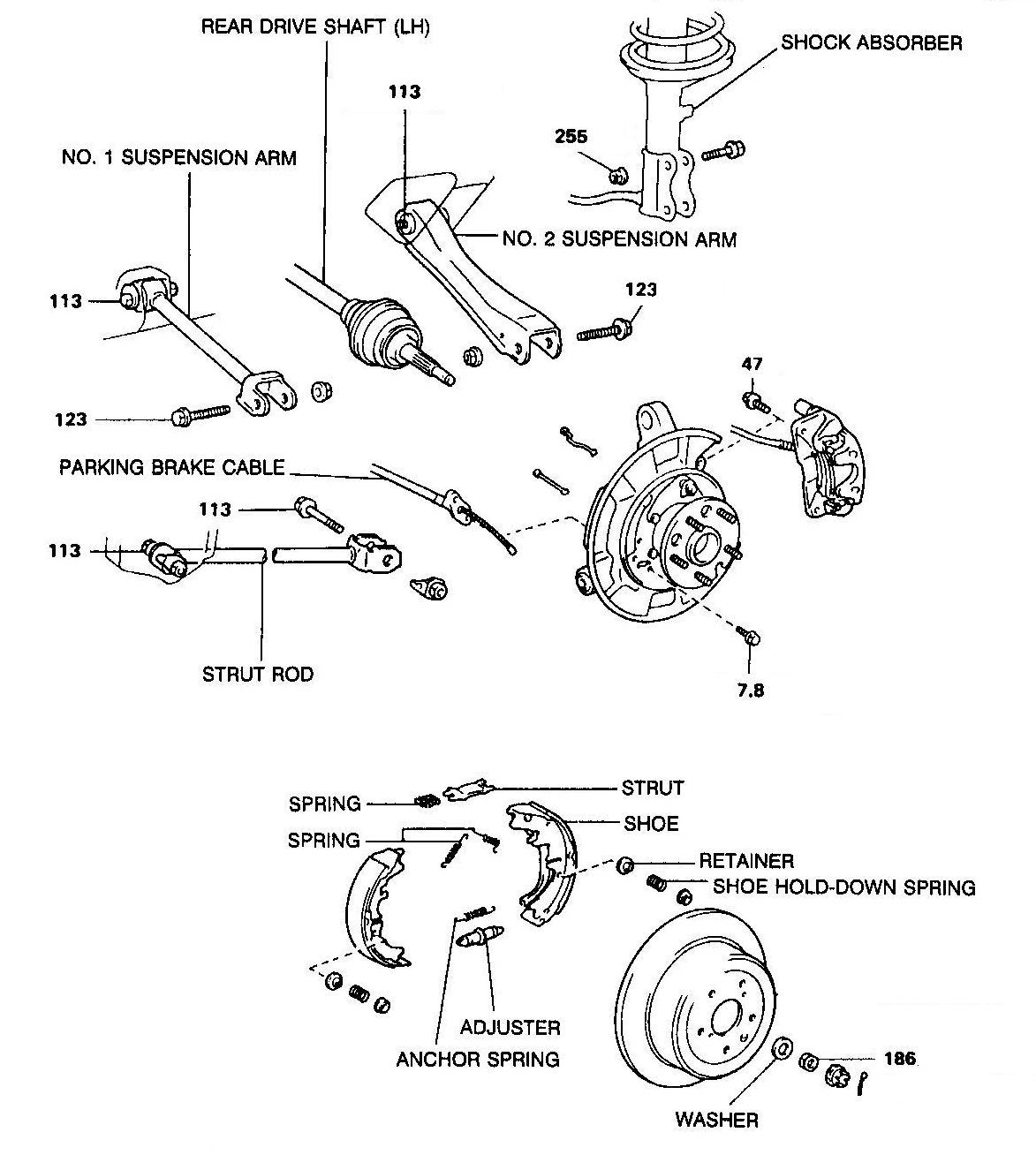 How To Replace The Rear Suspension Bushes On A Toyota