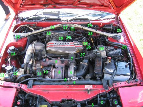 small resolution of toyota celica engine bay diagram wiring diagram forward 1995 toyota celica engine diagram celica engine bay