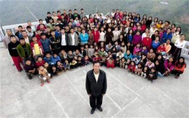 man who has 39 wives, 94 children and 33 grandchildren