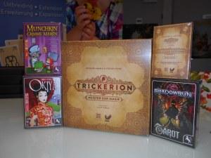 Games, Toys & more Spielegeschäft -trickerion