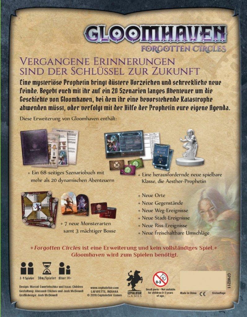 Games, Toys & more Gloomhaven Forgotten Circles deutsch Legacy Spiele Linz